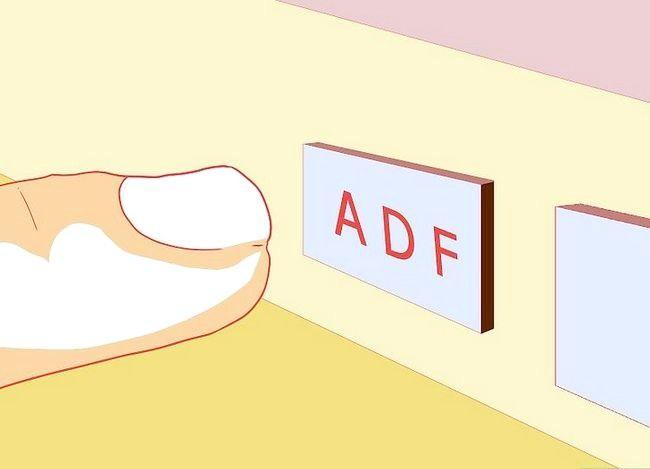 Navigeren tijdens de vlucht met behulp van de ADF