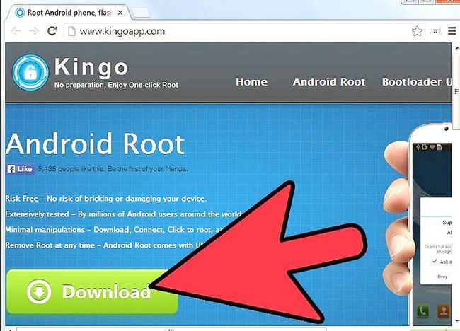 Titel afbeelding Root Your Android Device with Kingo Android Root Step 1