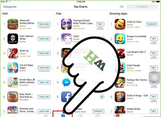 Titel afbeelding Get Free Apps on the iPad Stap 2