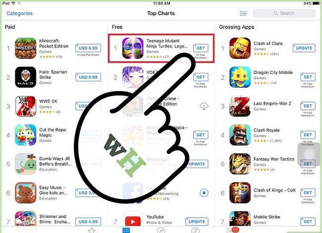 Titel afbeelding Gratis apps op de iPad Stap 4