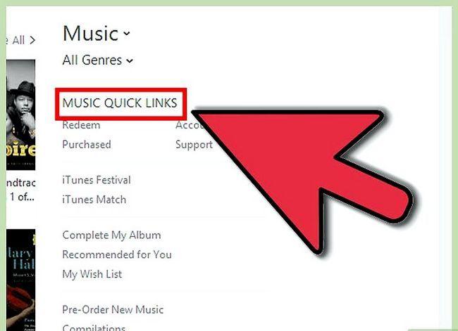 Titel afbeelding Get Free iTunes Music Step 4