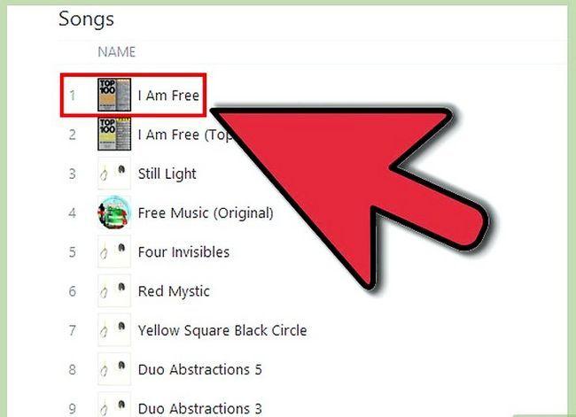 Titel afbeelding Get Free iTunes Music Step 7