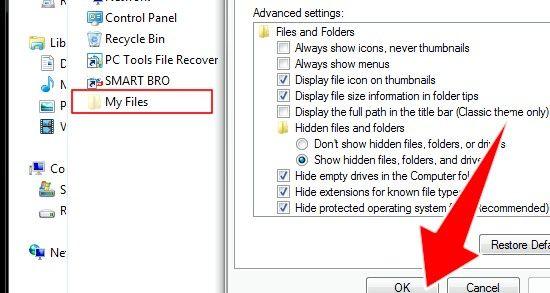 Titel afbeelding Verbergen Bestanden in Windows Stap 7