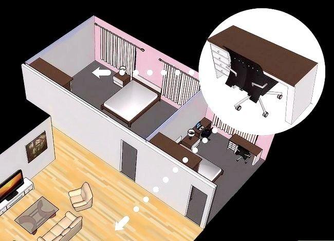 Hoe een kleine kamer te organiseren