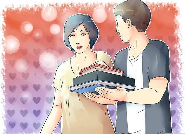 Titel afbeelding Ask a Girl op de middelbare school als je verlegen bent en zij je niet kent Stap 2