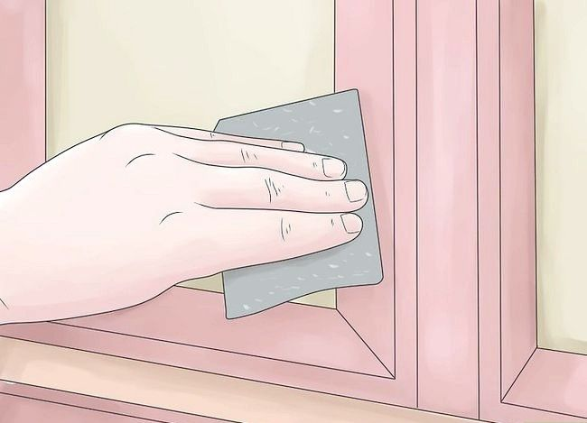 Titel afbeelding Paint Laminate Cabinets Step 4