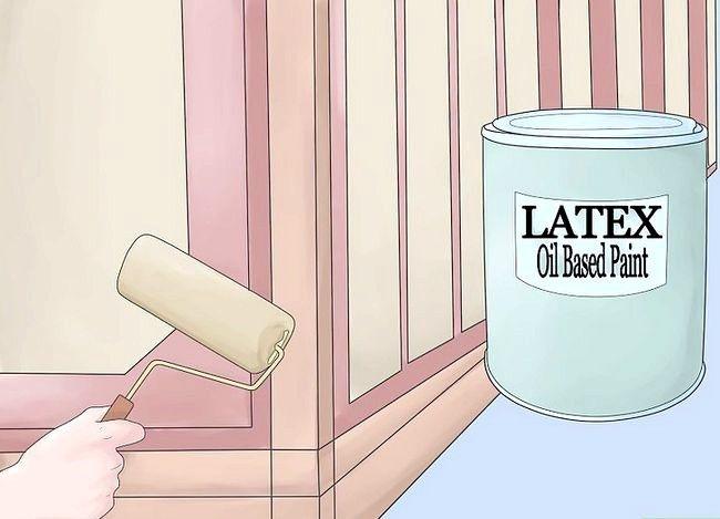 Titel afbeelding Paint Laminate Cabinets Step 6