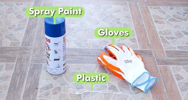 Titel afbeelding Spray Paint Plastic Step 6