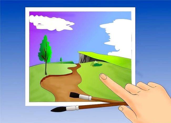 Hoe een olielandschap te schilderen