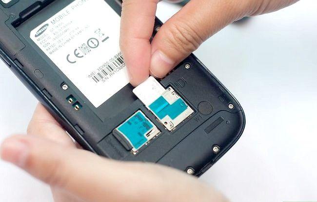 Titel afbeelding Put a SIM Card in de Samsung Galaxy S3 Stap 5
