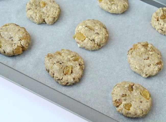 Titel afbeelding Make Gluten-Free Vegan Oatmeal Cookies Step 7