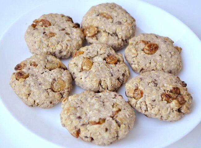 Titel afbeelding Make Gluten-Free Vegan Oatmeal Cookies Step 8
