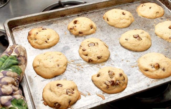 Titel afbeelding Make Cream Cheese Chocolate Chip Cookies Stap 11