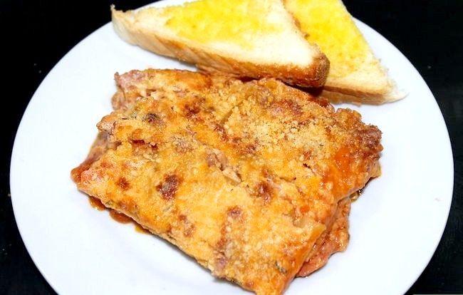 Titel afbeelding Make Lasagna with Bechamel Sauce Final