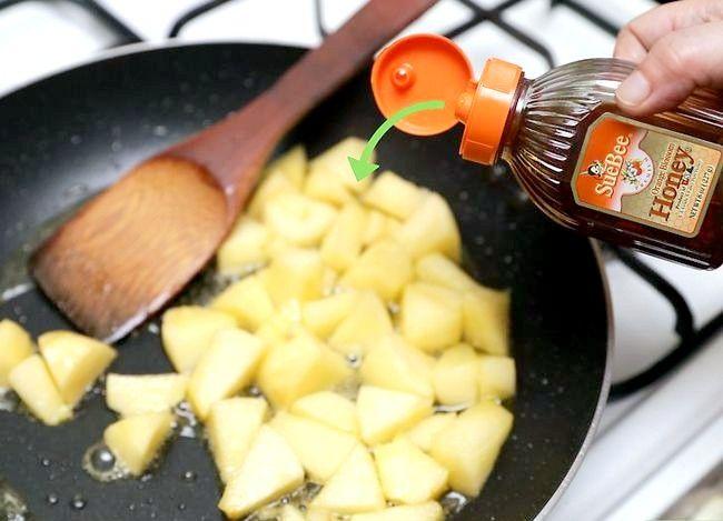Titel afbeelding Make Caramelized Apples Step 11