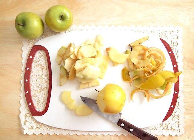 Titel afbeelding Make Scalloped Apples Step 1