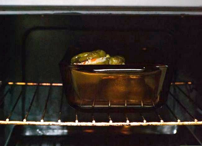 Titel afbeelding Make Stuffed Capsicums of Bell Peppers Step 6