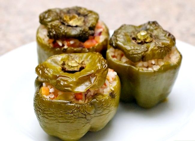 Titel afbeelding Make Stuffed Capsicums of Bell Peppers Step 8