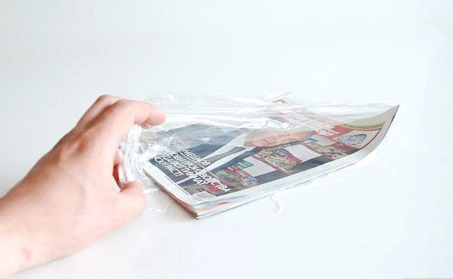 Hoe een krant te bewaren