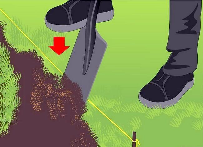 Titel afbeelding Edge a Lawn Without a Edger Step 6