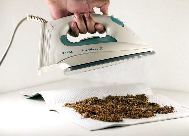 Titel afbeelding Rehydrate Stale Tobacco Step 5