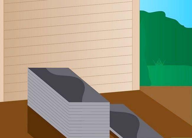 Hoe asfalt gordelroos te installeren