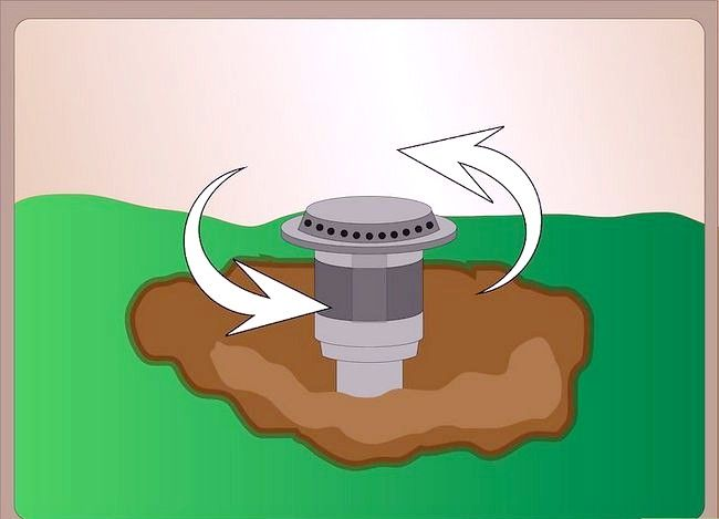 Titel afbeelding Repair a Pop up Sprinkler Head Step 4