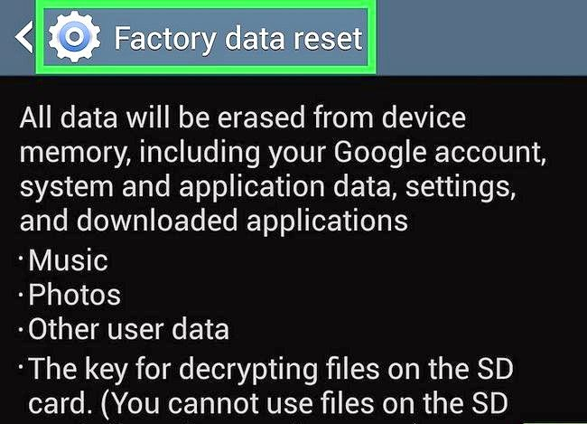 Titel afbeelding Reset Your Samsung Galaxy S4 Step 6