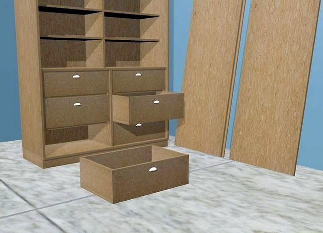 Titel afbeelding Refinish Particle Board Cabinets Step 1