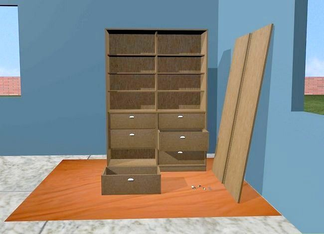Titel afbeelding Refinish Particle Board Cabinets Step 3