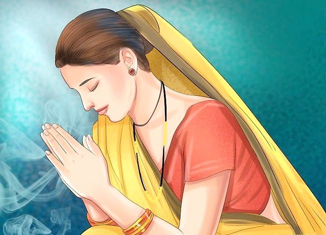 Titel afbeelding Pray to the Hindu God Ganesh Step 12