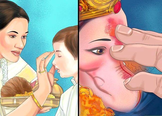 Titel afbeelding Pray to the Hindu God Ganesh Step 13