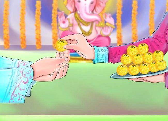 Titel afbeelding Pray to the Hindu God Ganesh Step 14