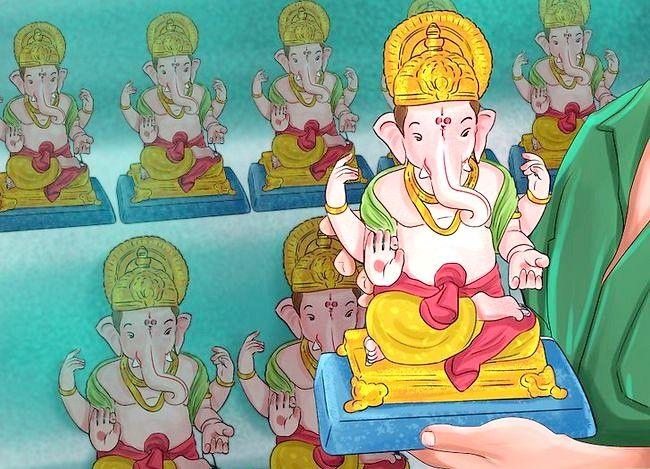 Titel afbeelding Pray to the Hindu God Ganesh Step 2