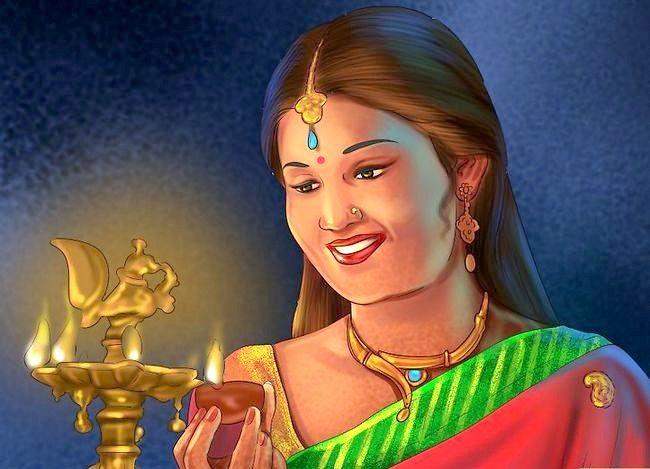 Titel afbeelding Pray to the Hindu God Ganesh Step 5
