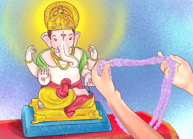 Titel afbeelding Pray to the Hindu God Ganesh Step 9