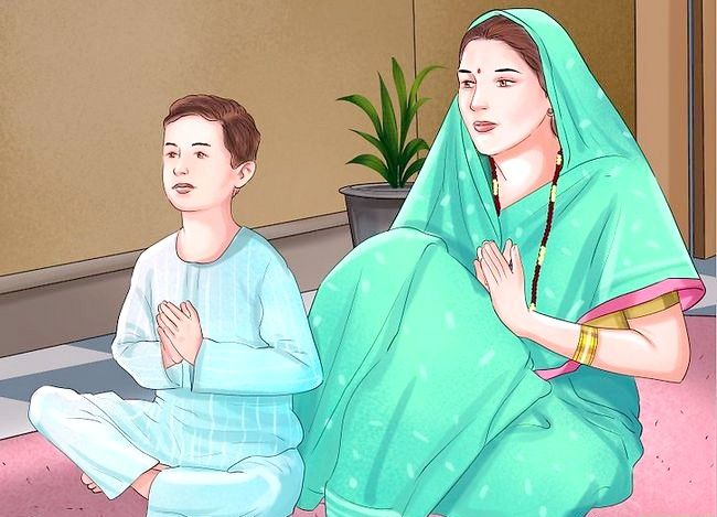 Titel afbeelding Pray to the Hindu God Ganesh Step 10