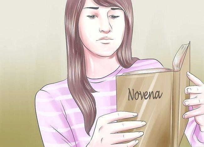 Hoe een noveen bidden
