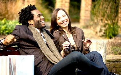 Titel afbeelding Laughing couple