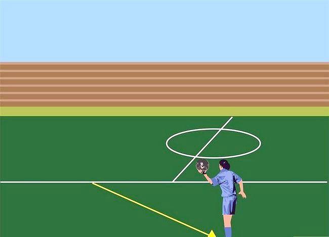 Hoe een kant te krijgen met voetbal flip