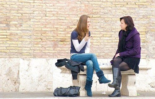 Titel afbeelding Sunday morning in Piazza del Popolo, nov 2009 46