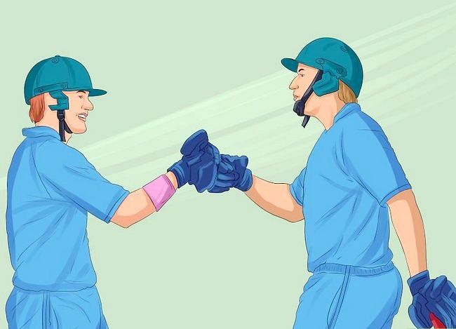 Titel afbeelding Captain a Cricket Team Step 12