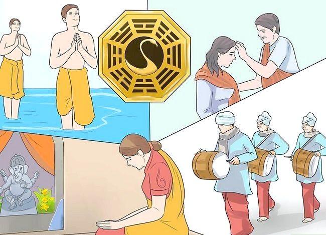 Titel afbeelding Be a Hindu Step 15