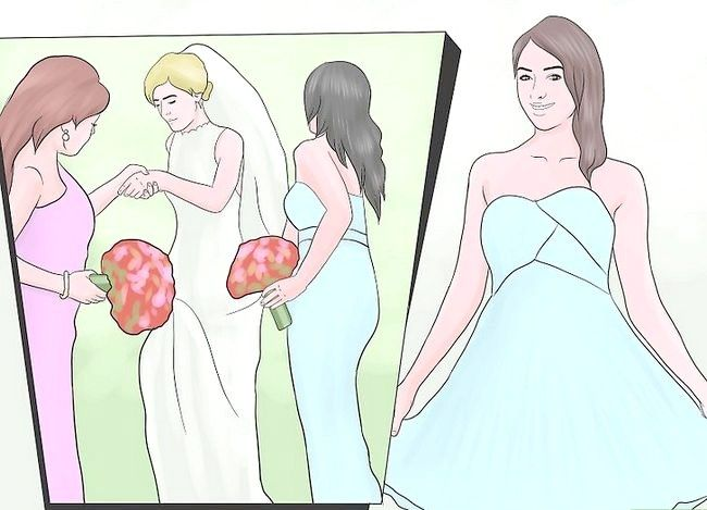 Titel afbeelding Be a Bridesmaid Step 2