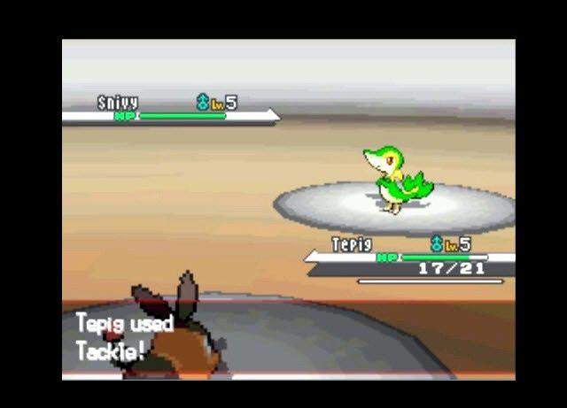 Titel afbeelding Level up Pokemon in Pokemon Black and White Stap 1