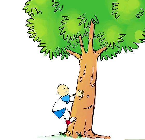 Titel afbeelding 04 Spring omhoog en plant beide voeten op de boom. Stap 04