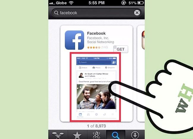 Titel afbeelding Use the iPhone App Store Step 4