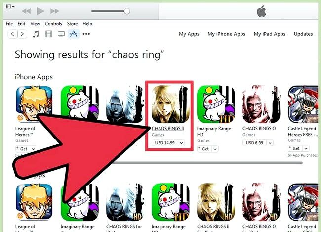 Titel afbeelding Use the iPhone App Store Step 10