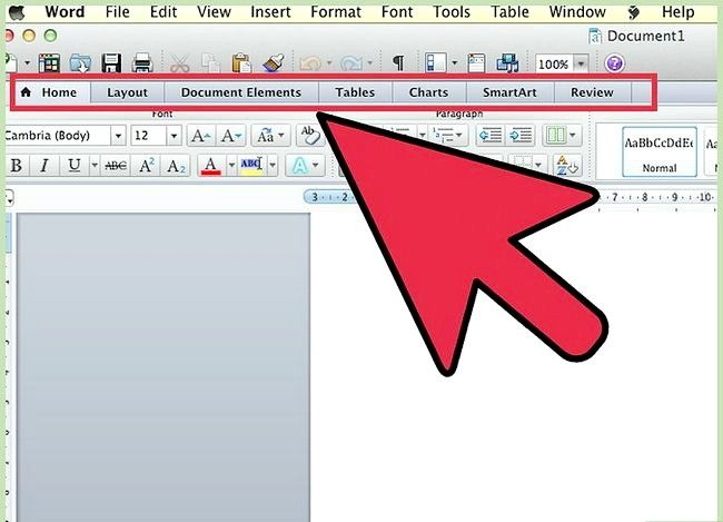 Titel afbeelding Use Microsoft Office Word 2007 Step 1