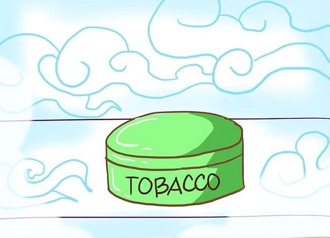 Titel afbeelding Dip Smokeless Tobacco Step 7